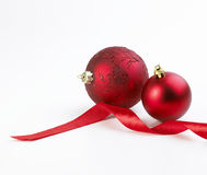 Burbujas de la cinta y de la Navidad Fotos de archivo libres de regalías