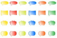 Burbujas de la comunicación Foto de archivo libre de regalías