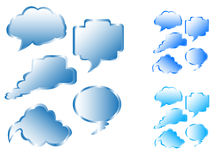Burbujas de la comunicación Imagenes de archivo