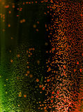 Burbujas de la Navidad imagen de archivo