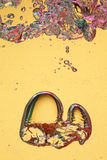 Burbujas de levantamiento Imagen de archivo libre de regalías