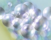 Burbujas de Seafoam libre illustration