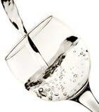 Burbujas del agua Imágenes de archivo libres de regalías
