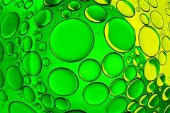 Burbujas del agua imagenes de archivo