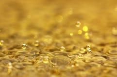 Burbujas del agua Fotografía de archivo