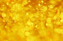 Burbujas del agua Foto de archivo libre de regalías