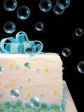 Burbujas del cumpleaños Imagen de archivo