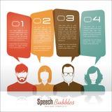 Burbujas del discurso