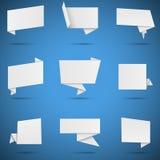Burbujas del discurso del Libro Blanco Foto de archivo libre de regalías