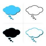 Burbujas del pensamiento Fotos de archivo libres de regalías