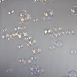 Burbujas del soplo Fotos de archivo libres de regalías