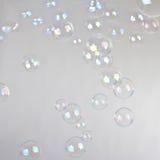 Burbujas del soplo Imagenes de archivo