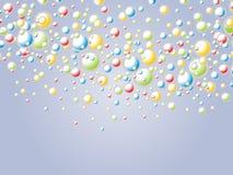 Burbujas divertidas Fotografía de archivo