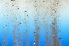 Burbujas en agua imagen de archivo