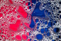 Burbujas en líquido Fotografía de archivo libre de regalías