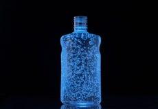 Burbujas en una botella Fotografía de archivo
