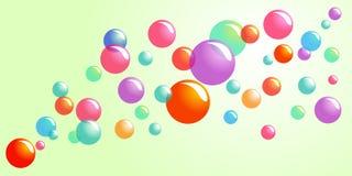 Burbujas felices Fotografía de archivo
