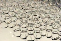 Burbujas mecánicas del agua Imagenes de archivo