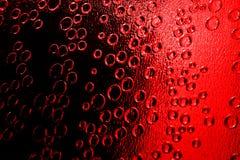 Burbujas rojas imagen de archivo libre de regalías