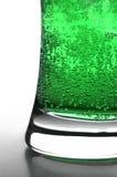 Burbujas verdes Fotos de archivo libres de regalías
