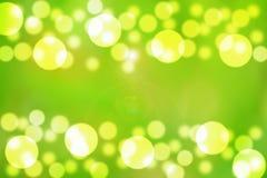 Burbujas verdes Imagenes de archivo