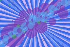 Burbujas y líneas abstractas del eith del fondo del moder Fotografía de archivo libre de regalías