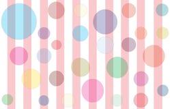 Burbujas y rayas foto de archivo libre de regalías