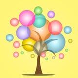 Burbujea el árbol Fotografía de archivo