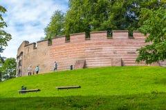 Burcht citadell i Leiden, Nederländerna Royaltyfria Foton