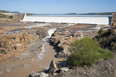 Burdekin Dam Royalty Free Stock Photos