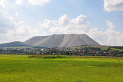 Burden dump Monte Kali near Heringen, Germany Stock Photos