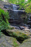 Burden falls on Bay creek, Shawnee National Forest, Illinois Royalty Free Stock Photos