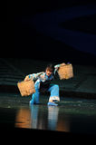 Burden overcomes- Jiangxi opera a steelyard Royalty Free Stock Images