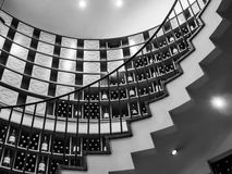 BURDEOS, GIRONDE/FRANCE - 19 DE SEPTIEMBRE: Vista interior de L'Int Imagen de archivo