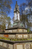 Burdett-Coutts Sundial at St Pancras Old Church Stock Photo