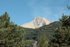 Bure mountain in Alps,France Stock Images