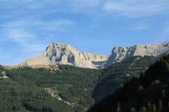 Bure peak in Alps Royalty Free Stock Image