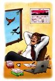 Bureau (2009) illustration de vecteur