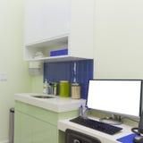 Bureau Binnenlands Ontwerp Stock Foto's
