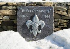 Bureau commémoratif image libre de droits