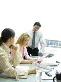 Bureau contactant 2 Images stock