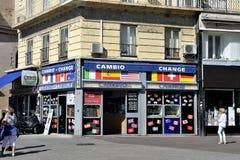 Bureau d'échange Image stock