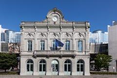 Bureau d'information du Parlement européen à Bruxelles Photographie stock libre de droits