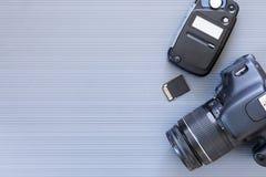 Bureau d'un photographe Photos libres de droits