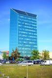 Bureau dans la ville de Vilnius à l'heure le printemps Image stock