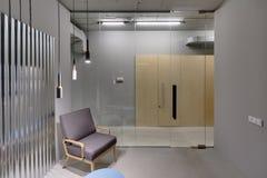Bureau dans le style de grenier Image libre de droits