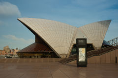 Bureau de billet de théatre de l'$opéra de Sydney Photos libres de droits