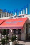 Bureau de billet du Waterworld en Chypre Images stock