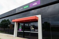 Bureau de Centrelink, d'Assurance-maladie et de NDIS dans Ararat dans l'Australie Photos libres de droits