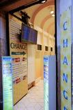 A bureau de change Stock Photography